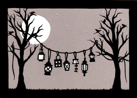 Fensterdeko Weihnachten Scherenschnitt by Lanterns Cut Paper Scherenschnitte Laternen Und