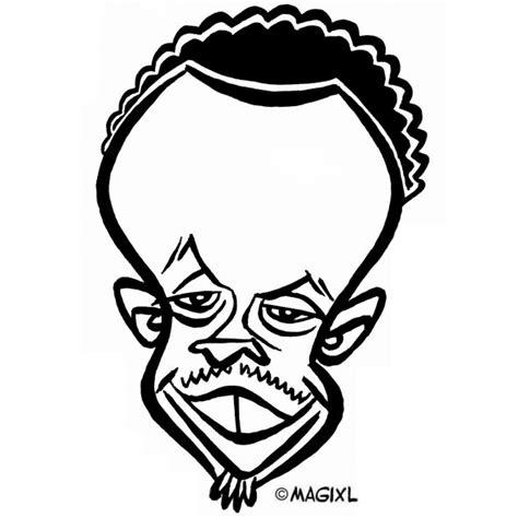 caricatures  nba  stars