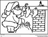 Coloring Pages Santa Christmas Colouring Truth Sojourner Fireplace Colour Chimneys Parade Area Printable Print Sleigh Gingerbread Getcolorings Imagine sketch template