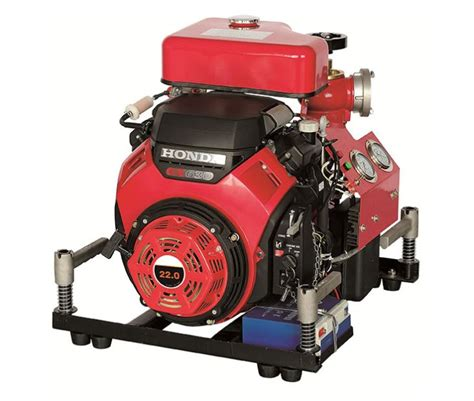 honda portable high pressure gasoline water pump  fire