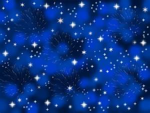 Blue Background With Stars Free Stock Photo - Public ...