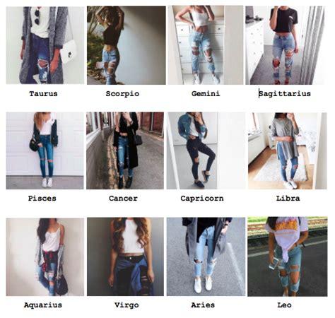 Zodiac outfits | Tumblr