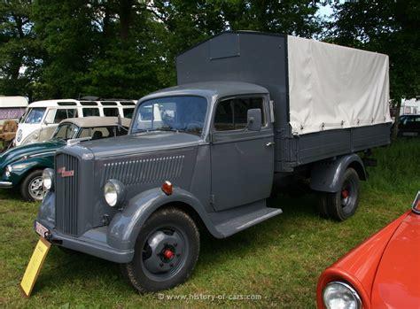 opel blitz opel 1946 blitz 1 5t pritsche die nutzfahrzeugbilderkiste