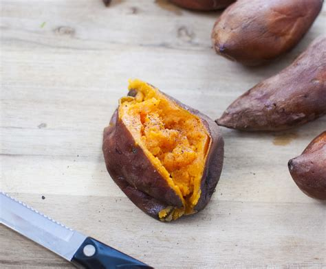 cooking a yam my favorite way to cook sweet potatoes in the slow cooker fo reals life