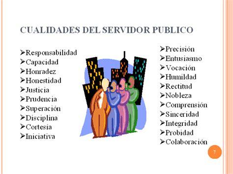 etica deberes y derechos servidor publico presentaci 243 n powerpoint monografias