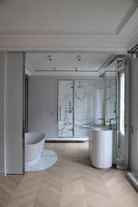 Bois Pour Salle De Bain : le carrelage aspect bois en 74 photos quels sont ses avantages ~ Melissatoandfro.com Idées de Décoration