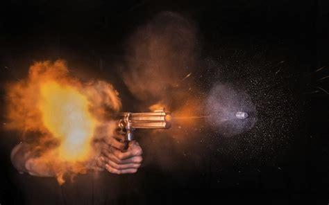 amazing   speeding bullets  microseconds