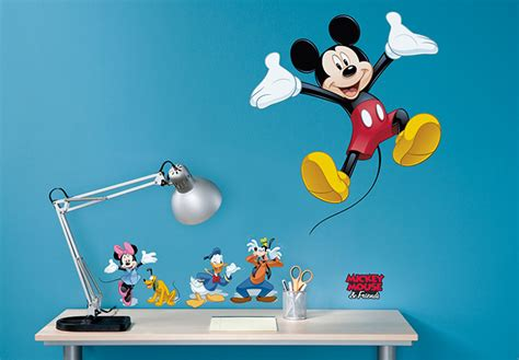Wandtattoo Kinderzimmer Mickey Mouse by Wandsticker Mickey Mouse And Friends 14017h Wall De