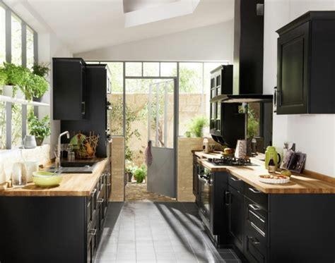 cuisine ardoise et bois la cuisine bois et noir c 39 est le chic sobre raffiné archzine fr