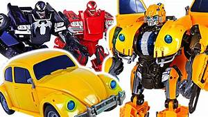 Transformers Movie Power Charge Bumblebee Vs Marvel Transformers Venom  Carnage   Dudupoptoy