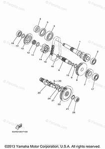 Yamaha Atv 2007 Oem Parts Diagram For Transmission