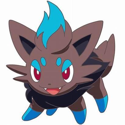 Zorua Shiny Animated Deviantart Glowing Pokemon