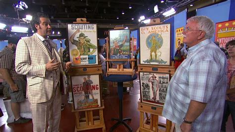 bsa posters appraised antiques roadshow bryan scouting