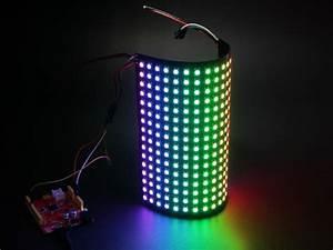16x16 RGB LED Matrix w& WS2812B - DC 5V - Led for ...