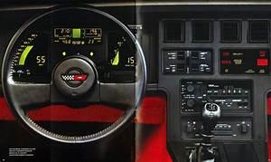 1986 C4 Chevrolet Corvette  Specifications  Vin   U0026 Options