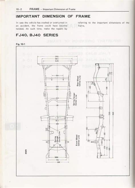chassisframe dimensions fj ihmud forum