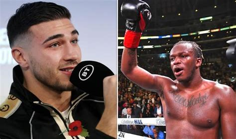 Tommy Fury calls out YouTube star KSI following ...