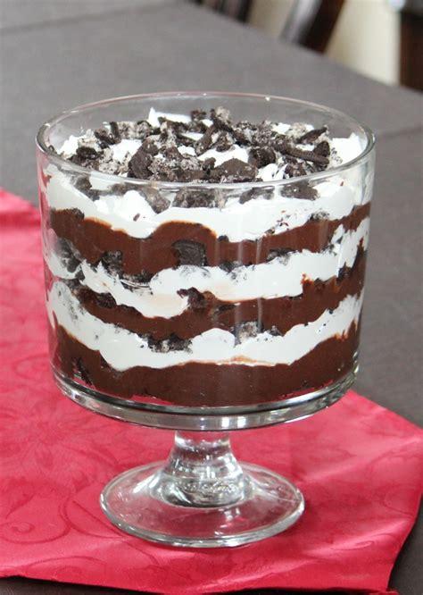 trifle recipe mint brownie hot fudge oreo trifle recipe dishmaps