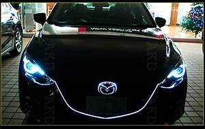 Akd Car Styling Led Headlight Projector For 2014 Mazda 3 Headlights Mazda3 Led Head Lamp
