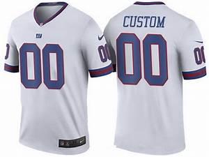 73ecfe61646 men 39 s new york giants white custom color rush legend nfl nike limited  jersey on sale for cheap