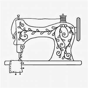 Vintage Sewing Machine Clip Art (55+)