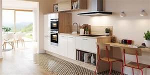 Cuisine Bois Clair : les avantages d 39 une cuisine blanche marie claire ~ Melissatoandfro.com Idées de Décoration