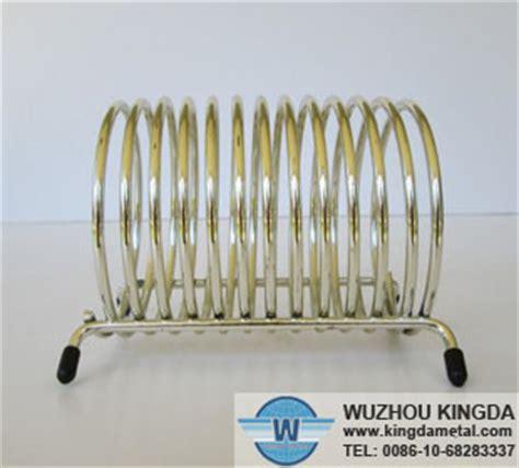 spiral metal letter holder spiral metal letter holder