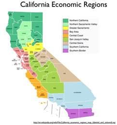 Northern California Region Map