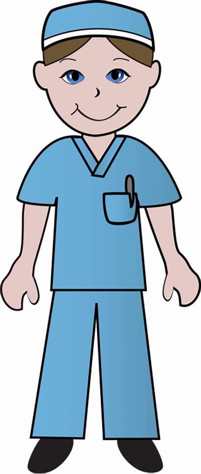 Nurse Clip Scrubs Nurses Clipart Happy Doctors