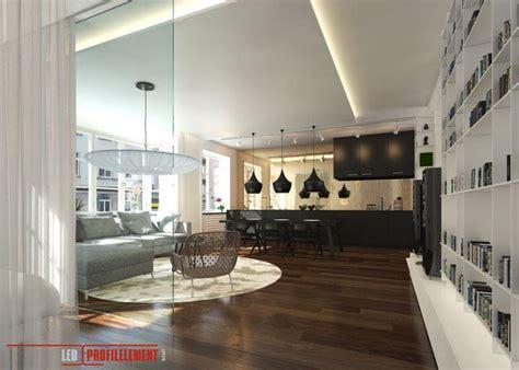 led beleuchtung wohnzimmer wohnzimmer mit indirekte beleuchtung durch led profile und led sticks livingroom with cove