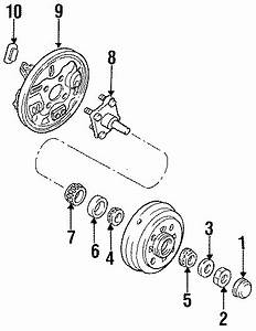 Ford Aspire Spindle  W  Abs  W  Abs  Right  Suspension  Rear