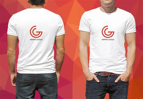 Tshirt Mockup Free T Shirt Mockup For Logo Branding Graphic