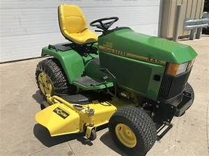 John Deere 445 Lawn And Garden Tractor Service Manual