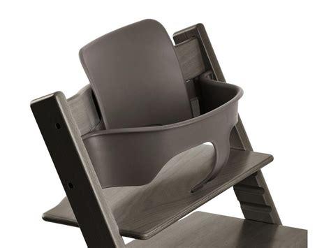 chaise stokke tripp trapp stokke accessoire baby set couleur gris brume pour