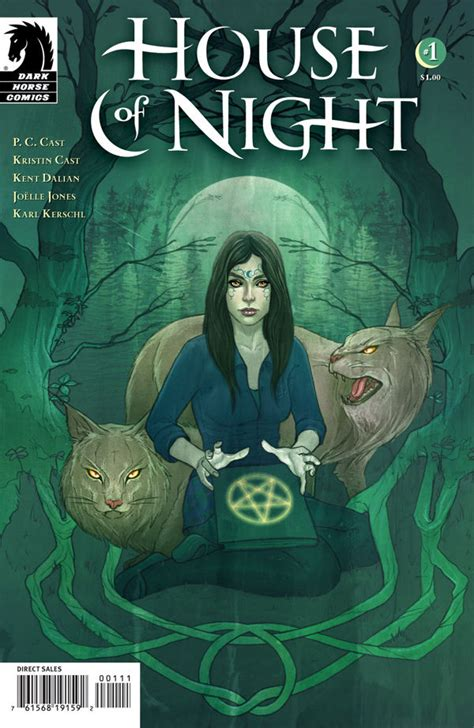 House Of Night #1 (jenny Frison Cover)  Profile Dark