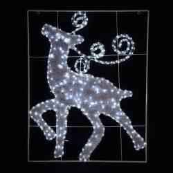 large flashing led rope light reindeer christmas xmas tinsel decoration sign new ebay
