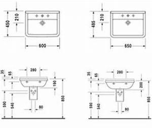 Hauteur Lavabo Sdb. hauteur plan vasque sdb. unique hauteur lavabo ...