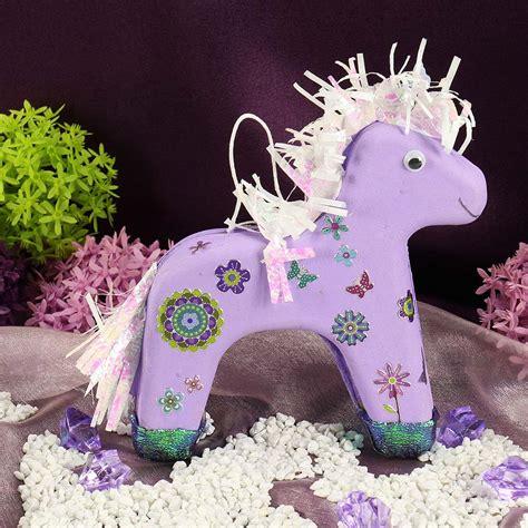 basteln pferde bastelanleitung kindergeburtstag