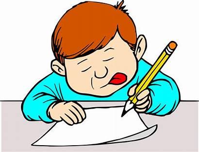 Writing Clipart Transparent Student Boy Clip Letter