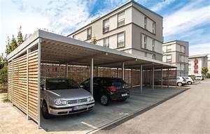 Carport Holz Modern : carport metall carport aus metall von gerhardt braun ~ Markanthonyermac.com Haus und Dekorationen