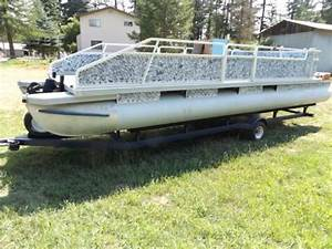 24 Foot Suntracker Pontoon Boat For Sale In Nine Mile