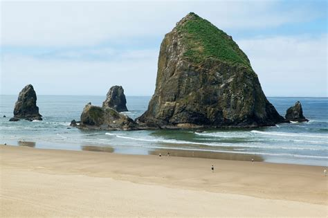 cannon beach and haystack rock oregon 6 of 7 view on