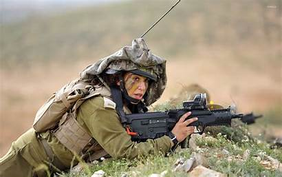 Soldier Woman Military Army Wallpapers Female Soldiers