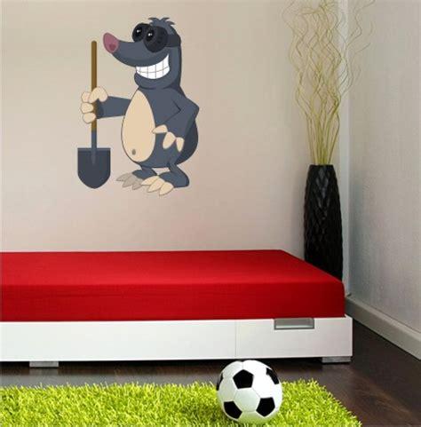 Wandtattoo Kinderzimmer Maulwurf by Maulwurf Wandtattoo Mit Digitaldruck
