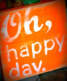 oh happy day homespun