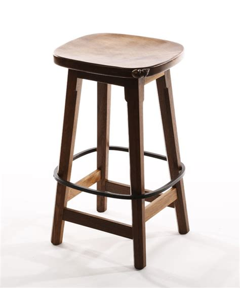 ct141 solid oak bar stool shop