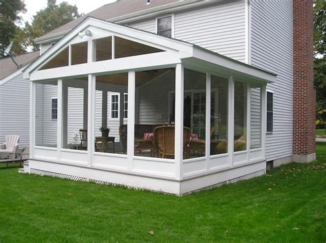 Build Sunroom by Build A Sunroom Three Season Room Allen Remodeling