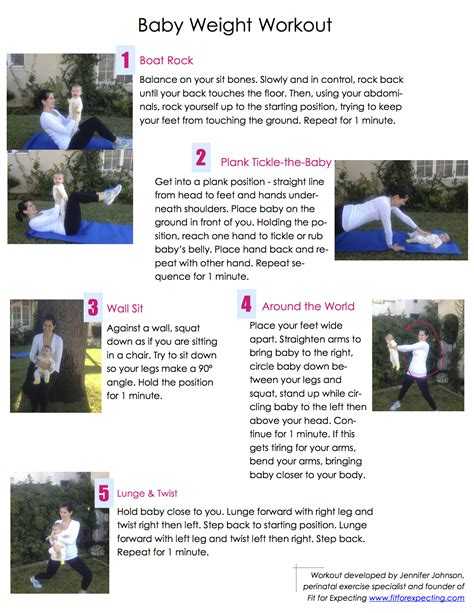 Baby Weight Workout The Leaky Bb