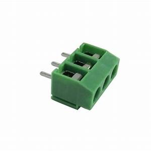 Pcb Screw Terminal Block - 3 Pin Wire To Board Connector - 5mm Pitch