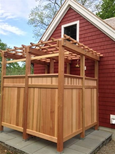 outhouse bathroom ideas cedar outdoor shower archives the tool reporter